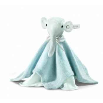 Peluche steiff selection éléphant doudou, bleu -239380