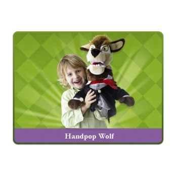 Marionnette peluche méchant loup sprockjesboom e01201