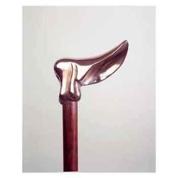 Canne bois -Bronze George B Shaw -SN39BR