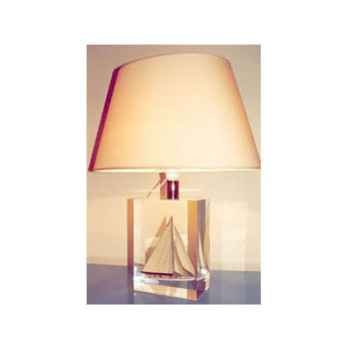 Moyenne Lampe Ovale Classe-J Beige Abat-jour Ovale Beige-122