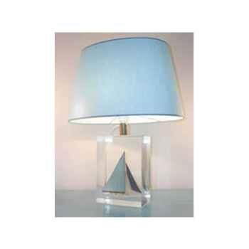 Moyenne Lampe Ovale Classe-J Bleu Clair Abat-jour Ovale Bleu Clair-124