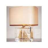 moyenne lampe rectangle goelette beige abat jour rectangle beige 131
