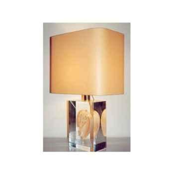Moyenne Lampe Rectangle Melodiadema Abat-jour Rectangle Abricot-133