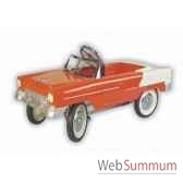 voiture a pedales en metarouge classic chevy 55 g038d