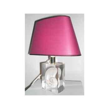 Mini Lampe Nautile Abat-jour Ovale Parme-70-1