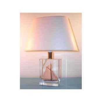 Mini Lampe Petite Barque Beige Abat-jour Ovale Beige-72