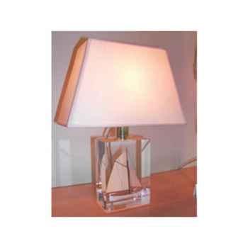 Mini Lampe Petite Barque Beige Abat-jour Trapeze Beige-83