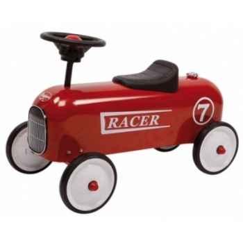 Porteur en métal Baghera racer rouge 801