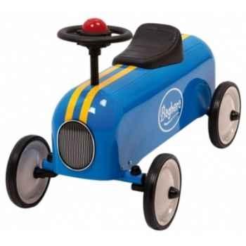 Porteur en métal Baghera racer bleu 803