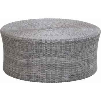 Grande table basse Biblos Résine Galet sans verre KOK 578H