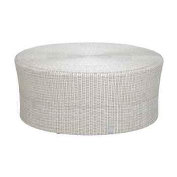 Grande table basse Biblos résine Crème sans verre KOK 578W