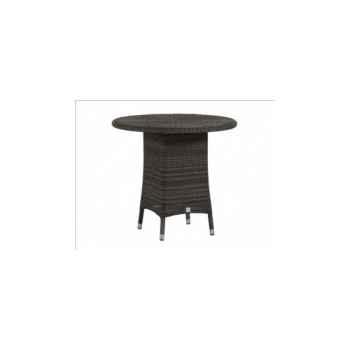Table Cigale résine Poivre sans verre KOK 597/4P