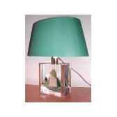 petite lampe ovale thonier cc 798 vert abat jour ovale vert fonce 91