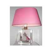 petite lampe ovale thonier gris rose abat jour ovale rose 95