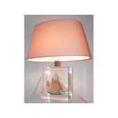 petite lampe ovale thonier gx abricot abat jour ovale abricot 96