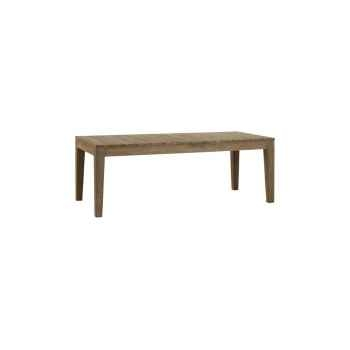 Table family outdoor Teck Recyclé naturel brossé KOK M200