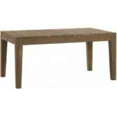 table family outdoor teck recycle naturebrosse kok m201
