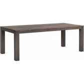 table drift teck recycle gris brosse kok m31g