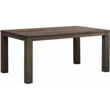 Table drift Teck Recyclé gris brossé KOK M33G