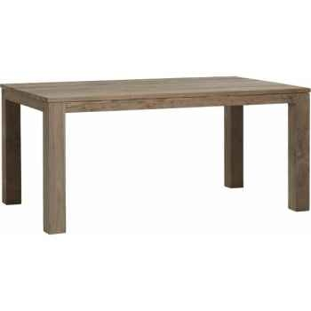 Table drift Teck Recyclé naturel brossé KOK M33N