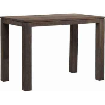 Table haute drift Teck Recyclé gris brossé KOK M34G
