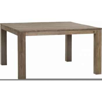 Table drift Teck Recyclé naturel brossé KOK M35N