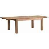 table a 2 allonges drift teck recycle naturebrosse kok m52n