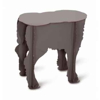 Tabouret agneau Scotty anthracite mobilier de compagnie design Ibride