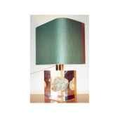 petite lampe rectangle turbo vert abat jour rectangle vert fonce 115