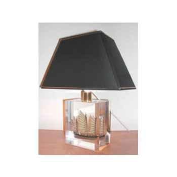 Petite Lampe Trapeze Jonk Chinoise Abat-jour Trapeze Noir-116