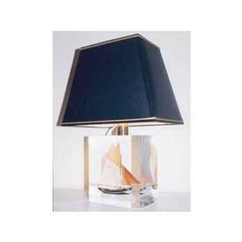 Petite Lampe Trapeze Thonier TR 19 Abat-jour Trapeze Noir-120