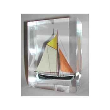 Mini Inclusion Petite Barque Noire & Jaune-52.1