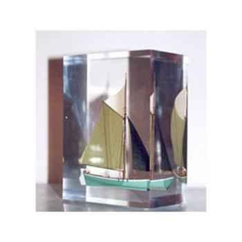 Mini Inclusion Petite Barque Verte-55