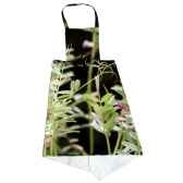 maron bouillie tablier robe illustration pois des champs