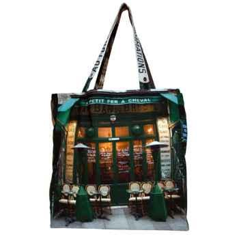 Maron Bouillie-Cabas modèle façade Café P'tit-fer.