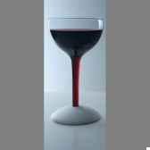 2 verres tentation avec base en silicone hauteur 175 cm bl10