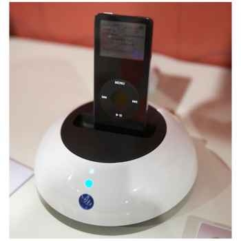 Ampli pour iPod - Le Dock - blanc