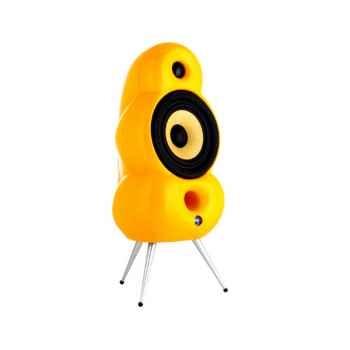 Enceintes Minipod jaune (la paire)