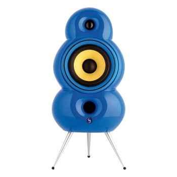 Enceintes Minipod bleu (la paire)
