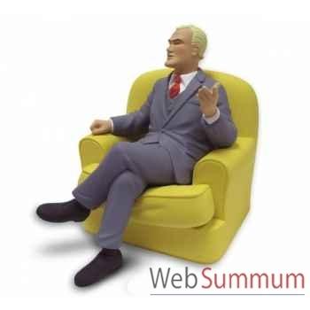 Blake dans son fauteuil Leblon-Delienne BLMST01401