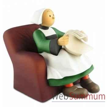 Bécassine dans son fauteuil version cuir club passion Leblon-Delienne BECST01003CP