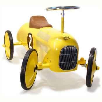 Voiture métal porteur jaune - Vilac 1051