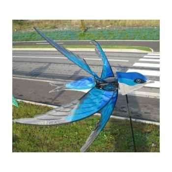 25123 eolienne oiseau bleu Cerf Volant 1224668845_3416