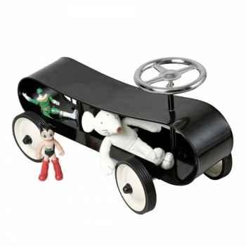 Baghera - Porteur Speedster stream line noir - 57 x 25 cm - 1 an+ - personnalisable - Baghera-895