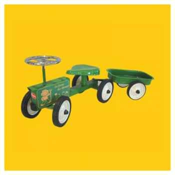 Baghera - Tracteur porteur - 78 x 30 cm - 1 an+ - Baghera-8313MW