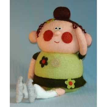 Peluche personnage tricot - Femme