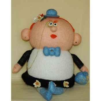 Peluche personnage tricot - La gouvernante