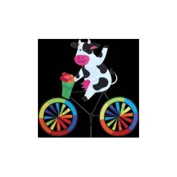 Eolienne 26717 vache vélo haut de gamme Cerf Volant 1299836601_2166