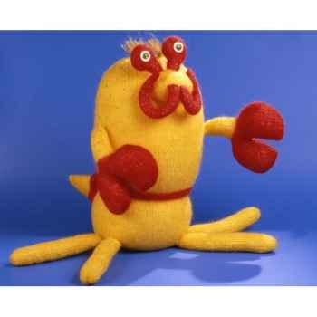 Peluches Animaux tricot - Crabe