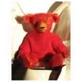 peluche ours d artiste robin piece unique signee ours fabrication ancienne